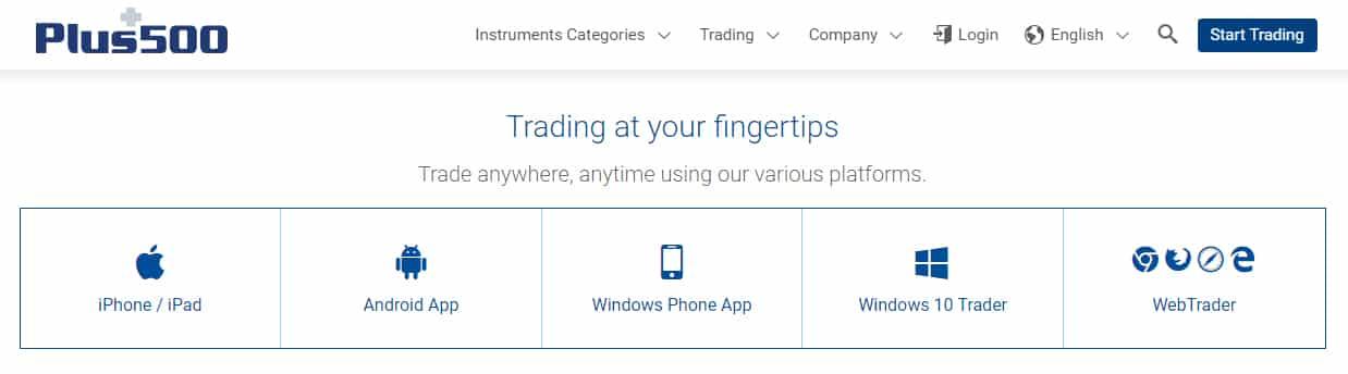 Plus500 Reviews - Mobile Trading Platform