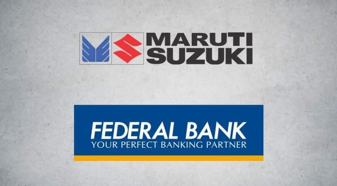 Maruti Suzuki Partners with Federal Bank