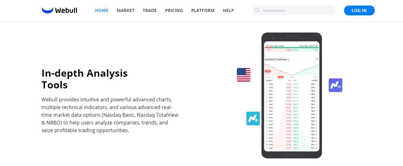 Webull Reviews - Analysis Tools of Webull