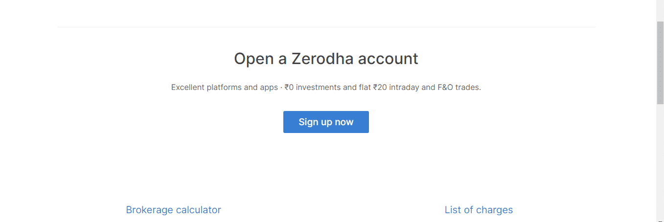 Zerodha Review: Open a Zerodha account