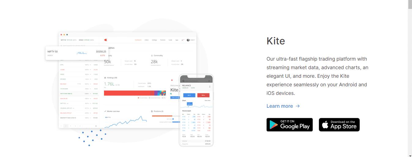 Zerodha Review: Zerodha's Web Platform - Kite