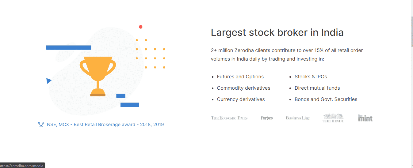 Zerodha Review: Largest stock broker in India