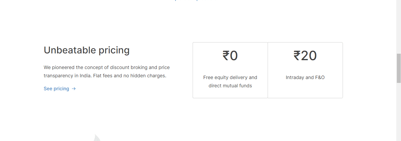 Zerodha Review: Unbeatable Pricing Of Zerodha