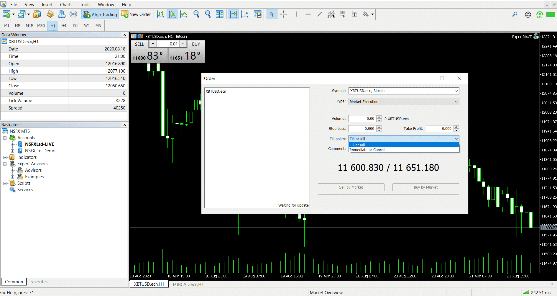 NSBroker's Trading Platform